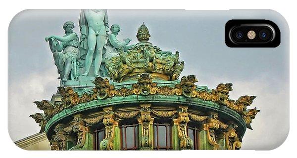Paris Opera House Roof IPhone Case