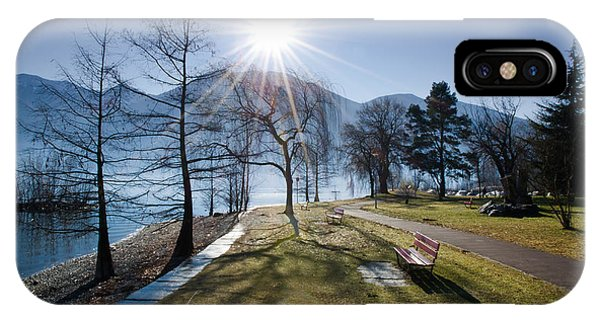 Park On The Lakefront IPhone Case