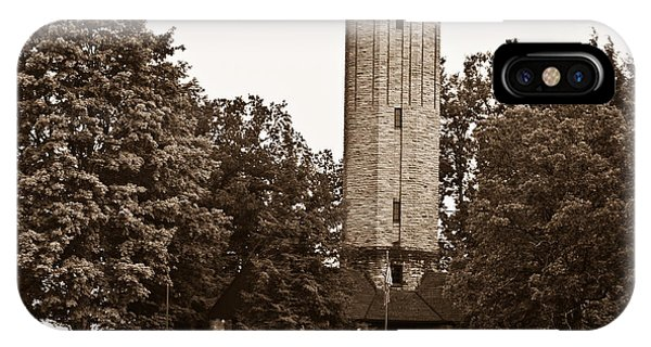 Crossville iPhone X Case - Park Tower by Douglas Barnett