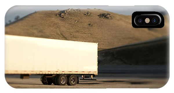 Parked Semi Trailer IPhone Case