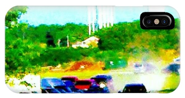 Impressionism iPhone Case - Parking Lot #android #andrography by Marianne Dow