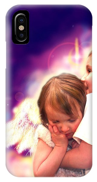 Parkinson.angelic 3 IPhone Case