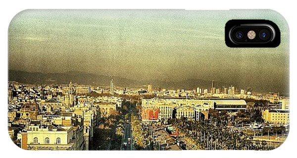 View iPhone Case - Passeig De Colom - Barcelona by Joel Lopez