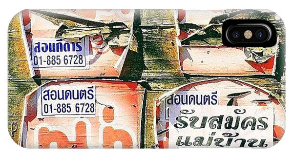 Travel iPhone Case - Past Their Sell By Date..#thailand by A Rey