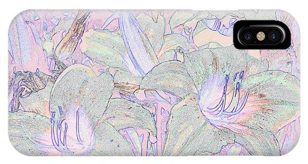 Pastel Lillies IPhone Case