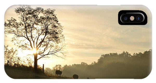 Pasture Sunrise IPhone Case