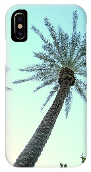 Peaceful Palms IPhone Case