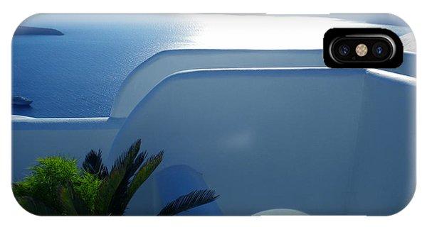 Peaceful Sunset Santorini IPhone Case