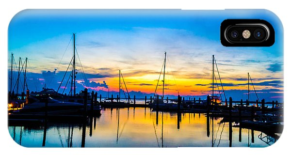 Peacefull Sunset IPhone Case