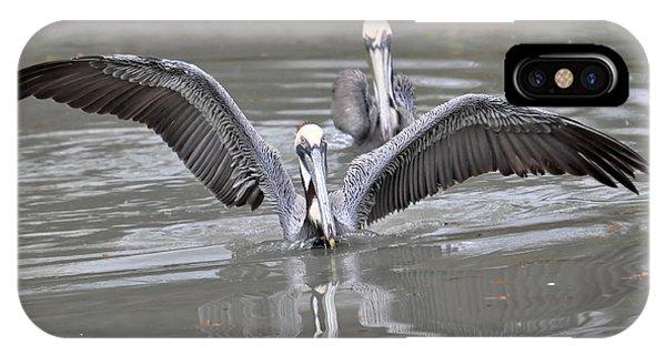 Pelican Span Phone Case by Teresa Blanton