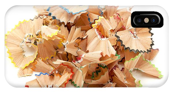 Coloured Pencil iPhone Case - Pencil Shavings by Fabrizio Troiani
