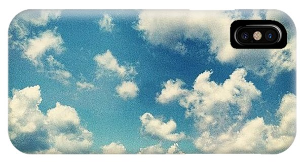 Sunny Days iPhone Case - Perfect Sky by Lori Lynn Gager