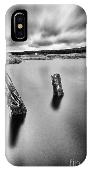 Loch Ard iPhone Case - Perfectly Still by John Farnan