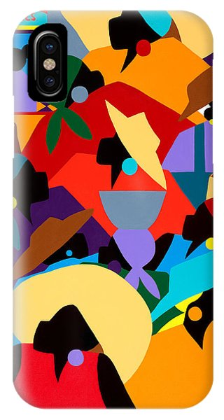 Petion Ville Market II IPhone Case