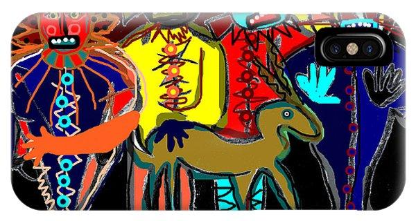 Petroglyph IPhone Case