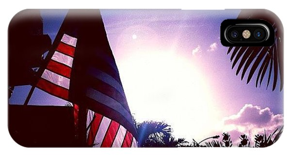 Patriotic iPhone Case - #photooftheday #pictureoftheday #pride by E  Marrero