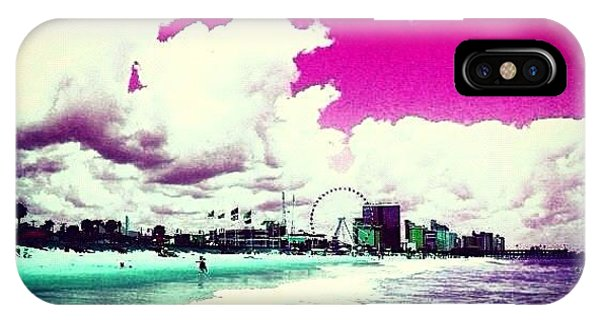 Summer iPhone Case - Pic Redo #beach #summer #prettycolors by Katie Williams