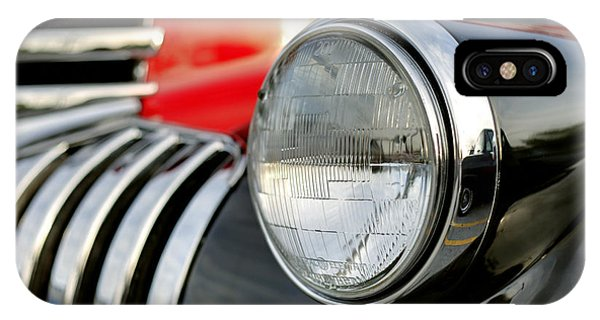 Pickup Chevrolet Headlight. Miami IPhone Case
