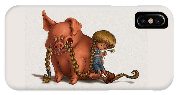 Pig Tales Chomp IPhone Case