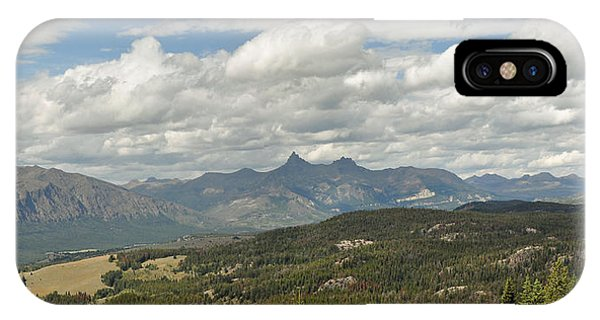 Pilot Peak Panorama IPhone Case