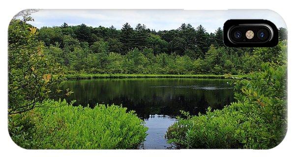 Pine Hole Pond IPhone Case