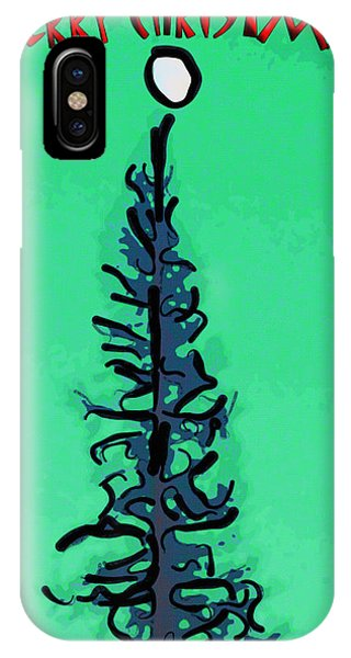 Pine Tree Christmas IPhone Case