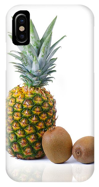 Pineapple And Kiwis IPhone Case