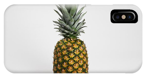 Pineapple iPhone Case - Pineapple by Photo Researchers, Inc.