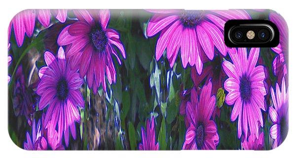 Pink Flower Power IPhone Case