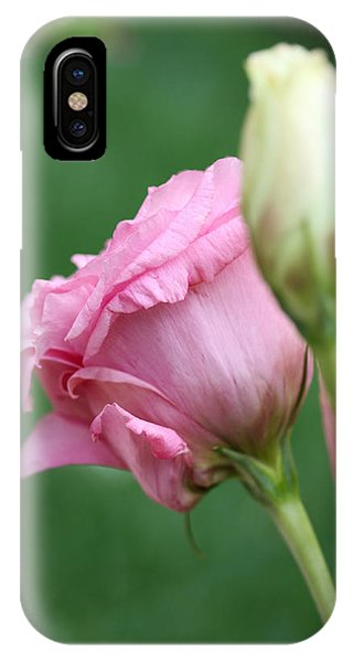 Pink Lisianthus IPhone Case