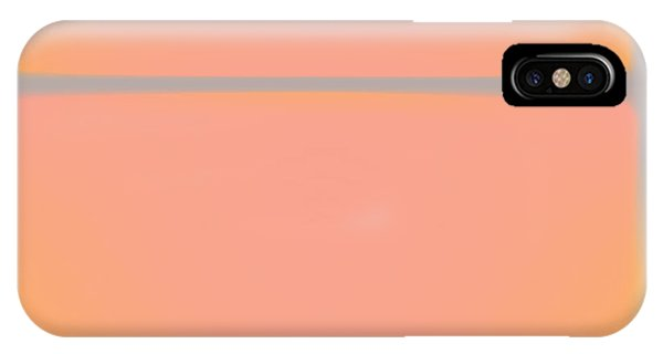 Pink Yellow And Grey IPhone Case
