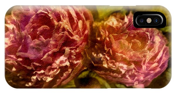 Floral Arrangement iPhone Case - Piony by Svetlana Sewell