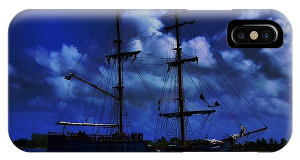 Pirate's Blue Sea IPhone Case