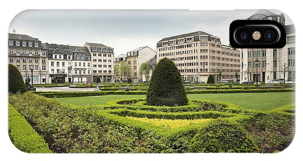 Place Des Martyrs, Luxembourg City, Luxembourg, Europe Phone Case by Jon Boyes
