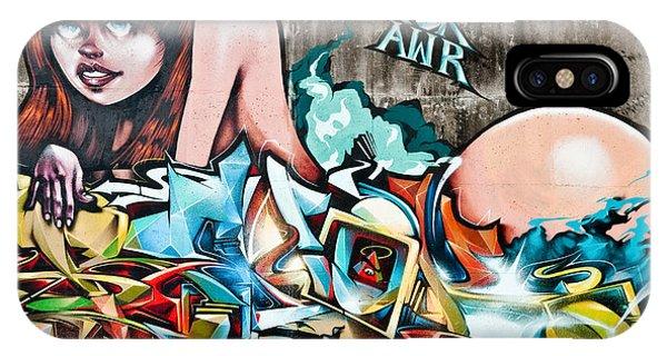 Plunged In Graffiti IPhone Case