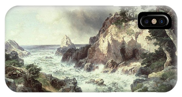 Point Lobos At Monterey In California IPhone Case