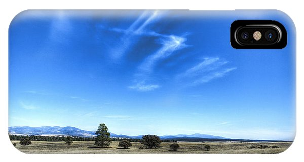 Point Of Pines - San Carlos Indian Reservation IPhone Case