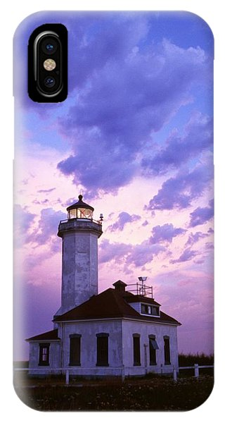 Port Townsend iPhone Case - Point Wilson Lighthouse by Natural Selection Craig Tuttle