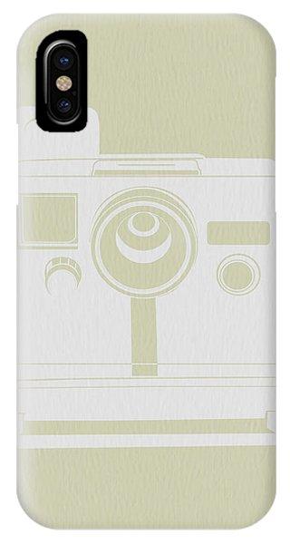 Cameras iPhone Case - Polaroid Camera 2 by Naxart Studio