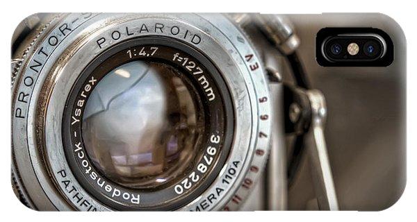 Chrome iPhone Case - Polaroid Pathfinder by Scott Norris