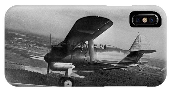 Polikarpov I-15, Soviet Fighter, 1935 Phone Case by Ria Novosti