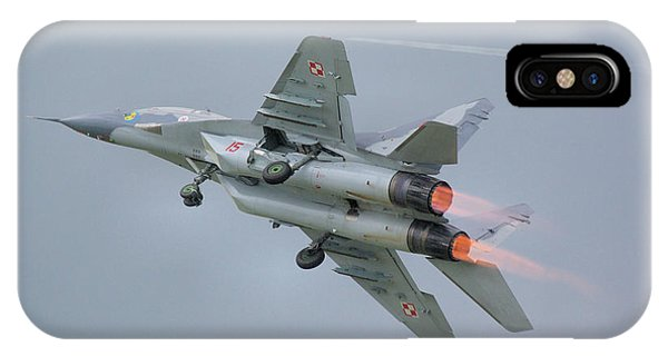 Polish Air Force Mig-29 IPhone Case