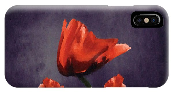 Poppies iPhone Case - Poppies Fun 02b by Variance Collections