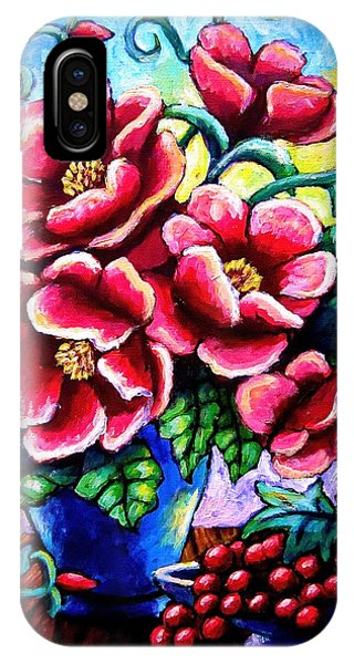 Poppin' Poppies IPhone Case