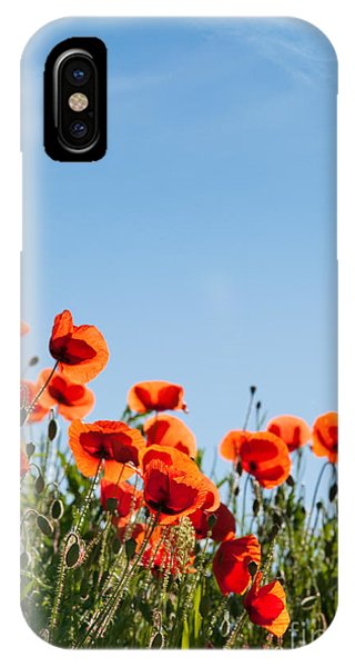 Petals iPhone Case - Poppy Flowers 01 by Nailia Schwarz