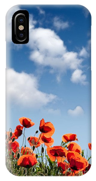 Petals iPhone Case - Poppy Flowers 04 by Nailia Schwarz