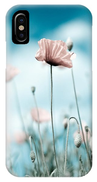 Petals iPhone Case - Poppy Flowers 10 by Nailia Schwarz