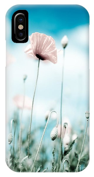 Petals iPhone Case - Poppy Flowers 13 by Nailia Schwarz