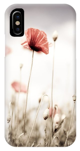 Petals iPhone Case - Poppy Flowers 15 by Nailia Schwarz