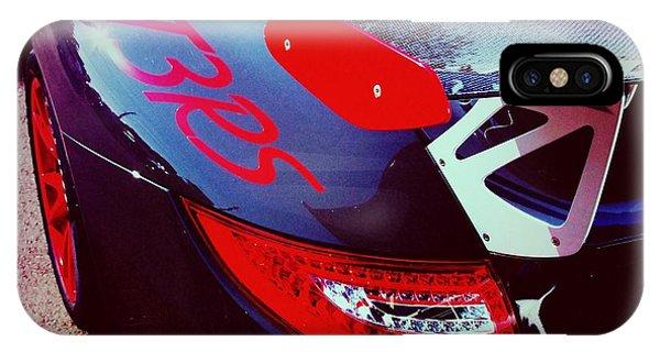 Porsche Gt3 Rs Back Corner IPhone Case